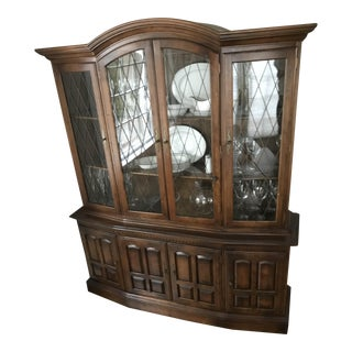 Ethan Allen Classic Manor China Cabinet