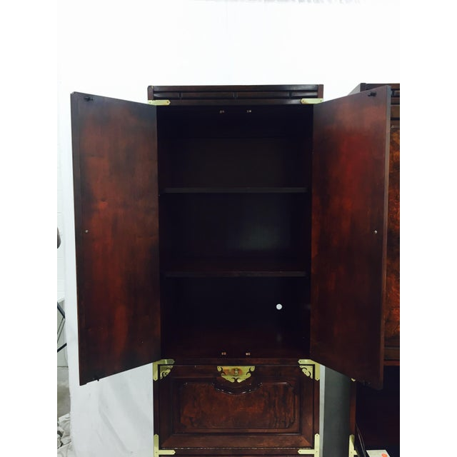 Mid-Century Asian Style Cabinets - A Pair - Image 10 of 11