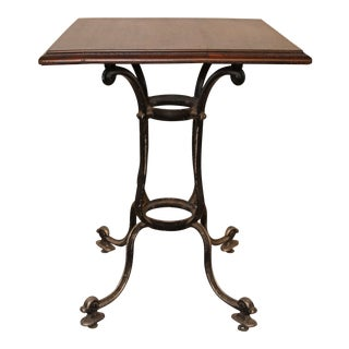 Vintage French Pub Table