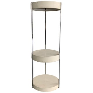 George Kovacs Tiered Floor Lamp Shelf Unit Etagere For Sale