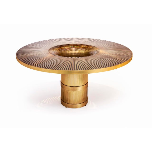 Contemporary The Vortex Dining / Center Table by Yann Dessauvages For Sale - Image 3 of 3