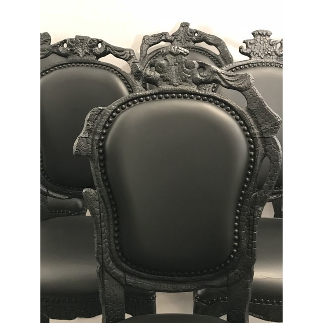 Baroque Smoke Chairs by Maarten Baas For Sale - Image 3 of 6