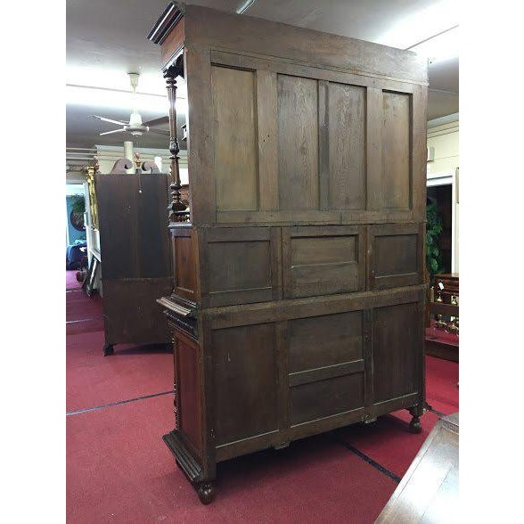 Late 19th Century Antique French Renaissance Style Cabinet For Sale - Image 4 of 13