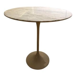 Eero Saarinen Style Marble Side Table