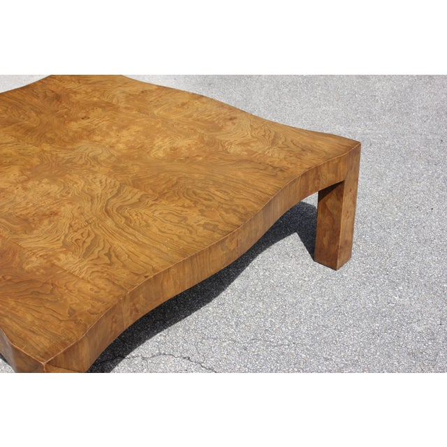 1970s Danish Modern Cherry Wood Coffee Table For Sale - Image 9 of 13