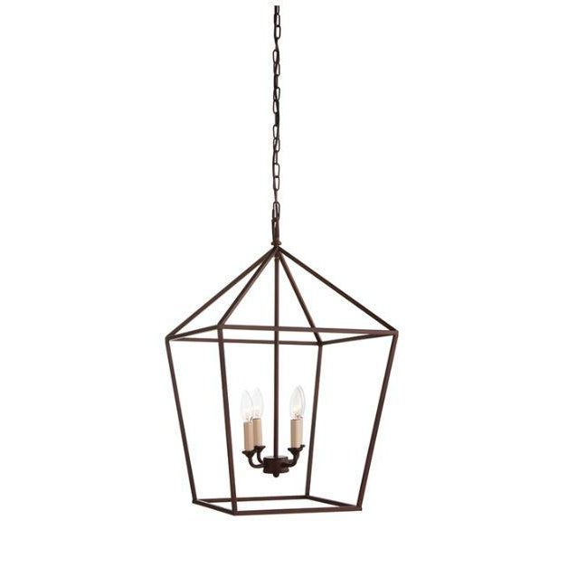 Metal Kennith Ludwig Chicago Wendell Lantern For Sale - Image 7 of 7