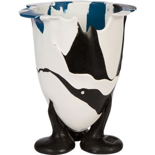 Abstract Plastic Vase Signed Gaetano Pesce For Sale