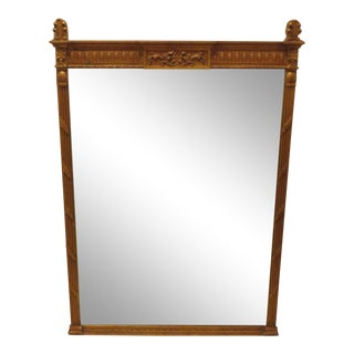 Vintage Deco Style Gilded Beveled Mirror