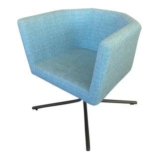 CB2 Facetta Cyan Chair