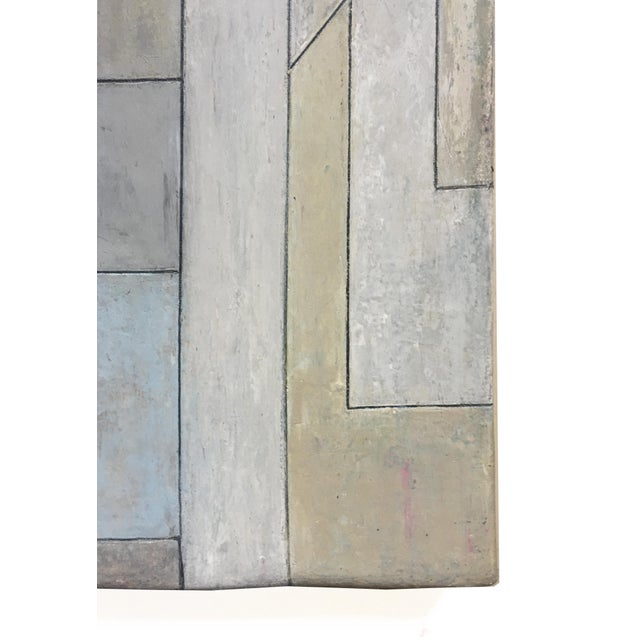 2020s Abstract Geometric Vertical Study by Stephen Cimini For Sale - Image 5 of 7
