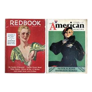 1930s Vintage Art Deco Magazines - A Pair For Sale