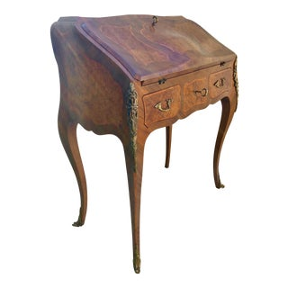Italian Neoclassic Smania Hand Crafted Secretary Desk For Sale