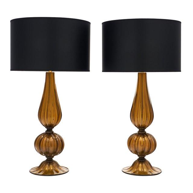 Murano Glass Pagoda Lamps For Sale - Image 10 of 10