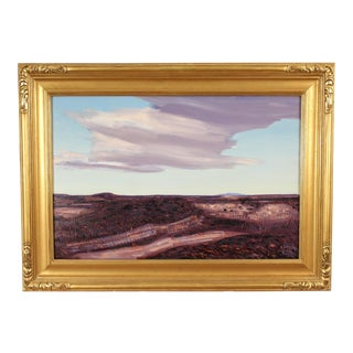 1960s California Desert Painting by Conrad Buff For Sale
