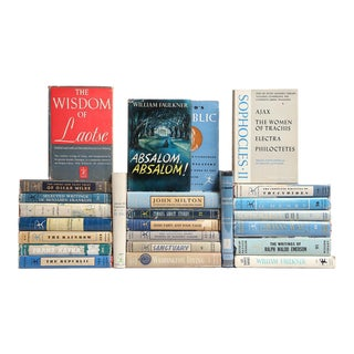 Philosophy & Prose Dustjacket Book Mix - Set of 25