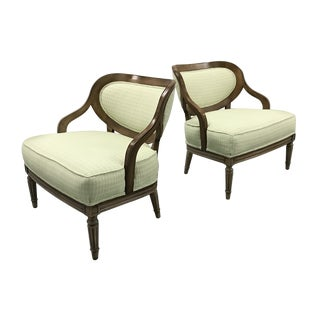 Vintage Chairs Attributed to Grosfeld House - a Pair For Sale