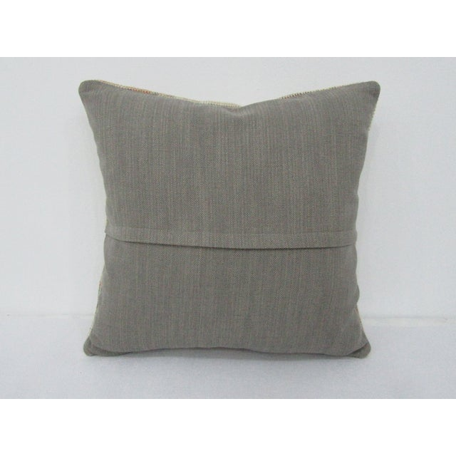 Islamic Turkish Decorative Vintage Pillow Cover For Sale - Image 3 of 4