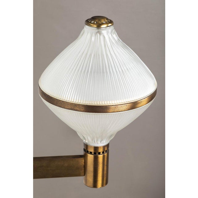 Large 1960s Studio B.B.P.R Brass Sconce For Sale - Image 11 of 13