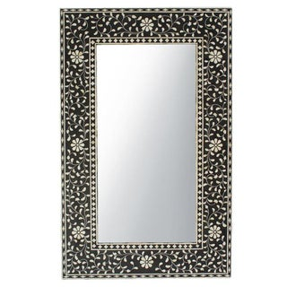 Black & White Inlay Mirror