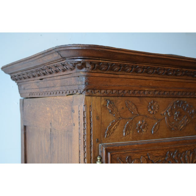 Antique French Oak Double Buffet, Circa 1860 For Sale - Image 4 of 13