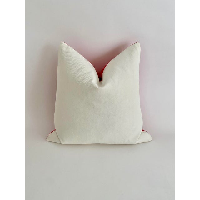 Pink Mali Mudcloth Pillow For Sale - Image 4 of 7