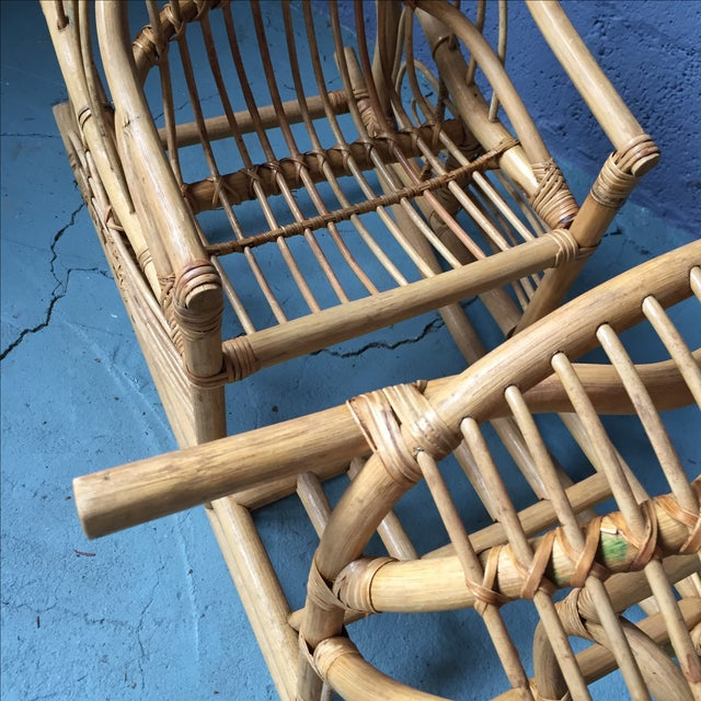 Vintage Child's Rattan Rocking Toy - Image 11 of 11