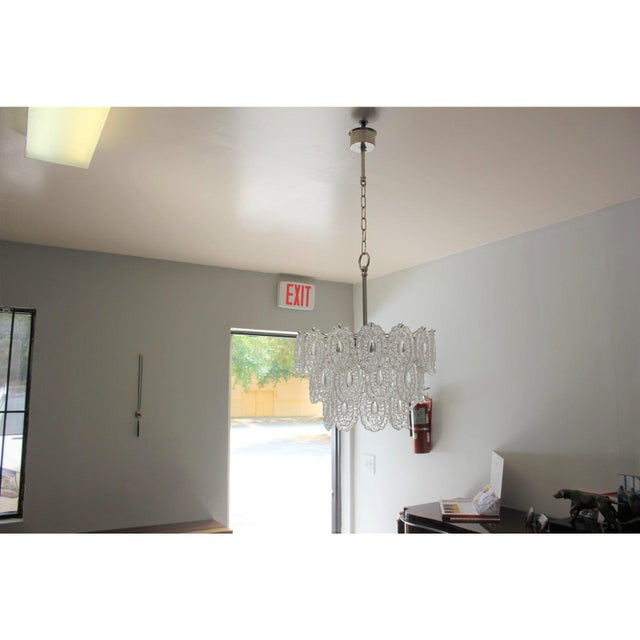 Italian Modern Chandelier by Murano Glass, Circa 1960s For Sale - Image 9 of 12