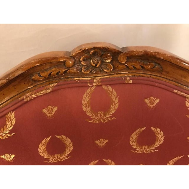 Open Arm Louis XV Style Feuteuil Chairs - a Pair For Sale - Image 4 of 9