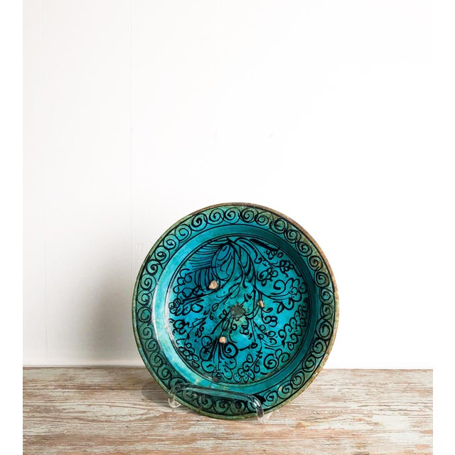 Kushan Turquoise Plate For Sale - Image 4 of 10