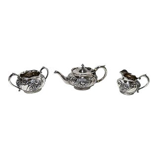 Reed & Barton Sterling Silver Tea Set