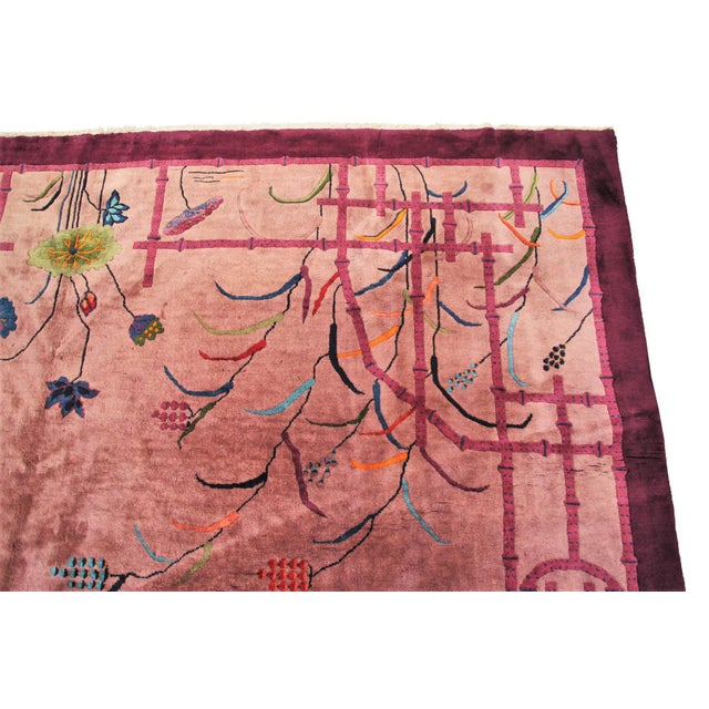 1920s Antique Art Deco Walter Nichols Rug- 10′ × 14′5″ For Sale In New York - Image 6 of 13