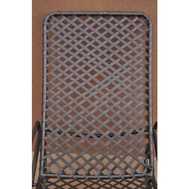 Late 20th Century Vintage Brown Jordan Kantan Tamiami Tilt Lounge Chair For Sale In Philadelphia - Image 6 of 10