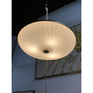 "1950s Mid Century ""Flying Saucer"" Atomic Pendant Chandelier Preview"