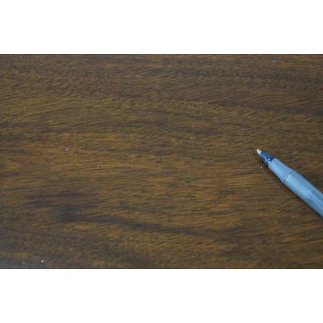 Mid Century Swedish Modern Oval Walnut Coffee Table For Sale - Image 10 of 10