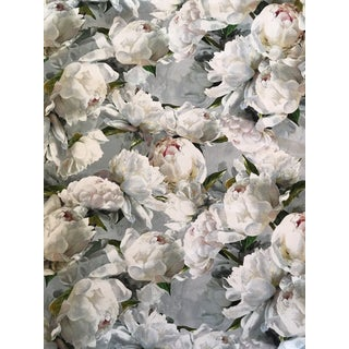 "Traditional Backed Designer Guild ""Peony Lino"" Fabric - 7 Yards For Sale"