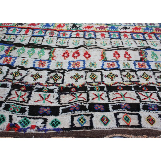 """Moroccan Rug - 9'10"""" X 4'8"""" For Sale - Image 4 of 5"""