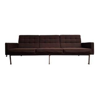 Midcentury Modern Florence Knoll Parallel Bar Series Style Sofa For Sale