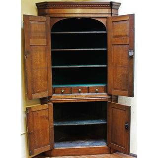 18th Century Georgian Corner Cabinet Preview