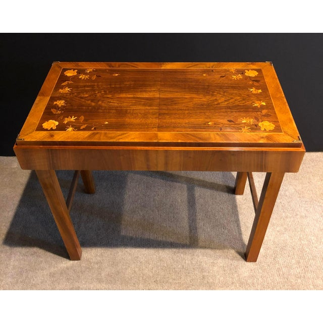 Mid-Century Modern Kunst-Mobel Folding Table For Sale - Image 13 of 13