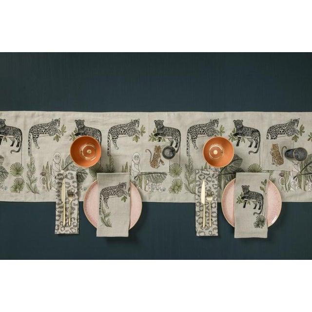Jaguar Perch Tea Towel For Sale - Image 4 of 5