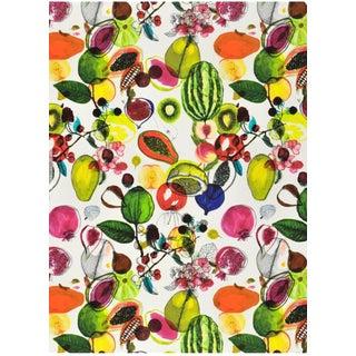Illustration Style Designer Guild / Christian Lacroix Manaos Perroquet Fabric For Sale