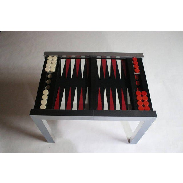 1970s Paul Evans Directional Backgammon Game Table For Sale - Image 5 of 11