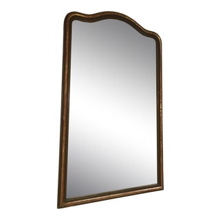 Antique 1900s Gilt Wall Mirror For Sale