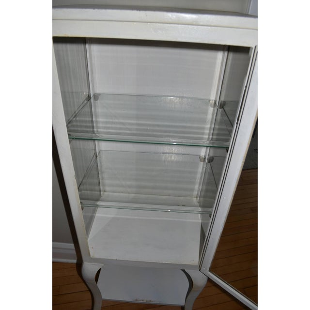 Apothecary Dental Steel and Glass Cabinet - Image 5 of 10