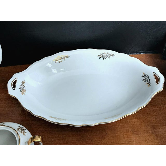 Glass Epiag Royal Czechoslovakia Luncheon Set - 43 Pieces For Sale - Image 7 of 13