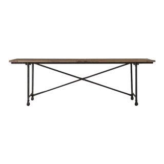 Industrial Restoration Hardware Flatiron Rectangular Dining Table