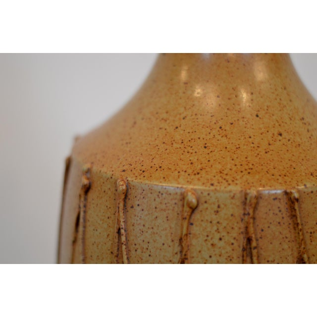 David Cressey Mid Century Ceramic Pottery Lamp For Sale - Image 6 of 12