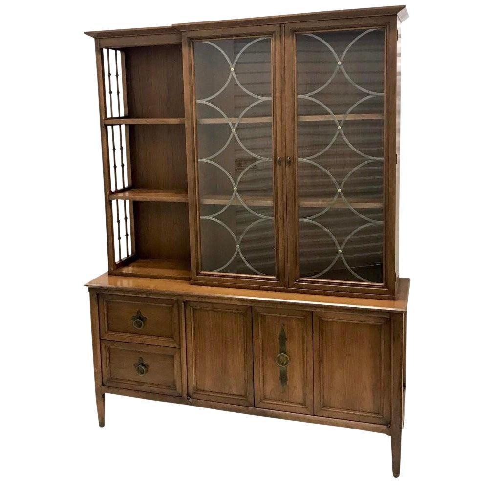 1950s mid century modern century furniture company china cabinet chairish