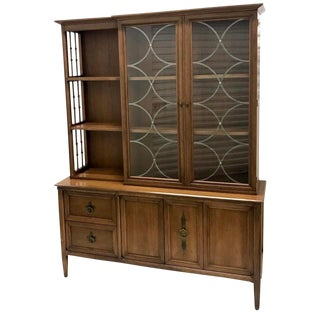 1950s Mid-Century Modern Century Furniture Company China Cabinet For Sale