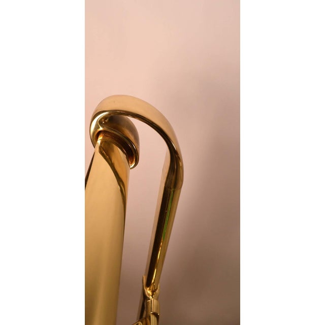 Full Size Brass Bed by Mauro Lipparini Made in Italy For Sale - Image 10 of 11